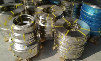 Bright Annealed BA Stainless Steel Strips