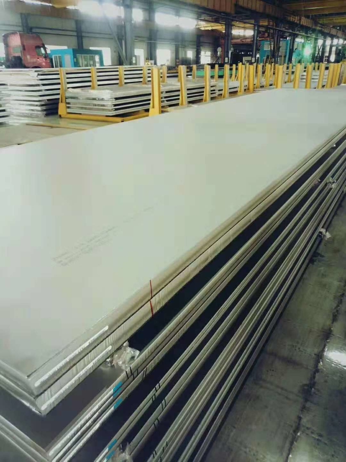 316L Stainless Steel Plate DIN1.4404 Metal Plate Laser Cutting and Bending